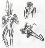 Magaki Studies: Poses by Jester-of-the-Clown