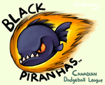 Black Piranhas Logo by GirGrunny