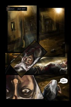 The Millennium House page 1 by calthyechild