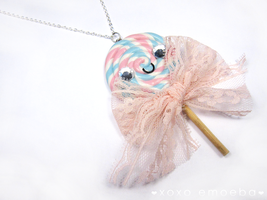 Lolllipop Necklace by Emoeba