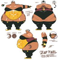 Random - Zaf'fael Reference Sheet V.2014 by Grim-Kun