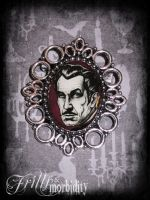 Vincent Price Brooch by FrillsandMorbidity