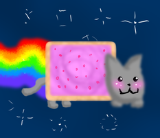 Nyan Cat by Harmful-Haze