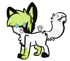 Tailmouth adopt CLOSED by mochiboo