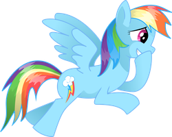 Rainbow Dash vector by saturdaymorningproj