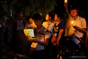 Power Outages Protest MDY 3 by nyiminsan