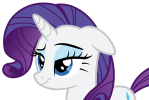 [Request] Rarity with Raised Eyebrow by Uponia