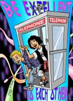 Bill And  Ted by brodiehbrockie