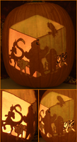 Animorphs Pumpkin Light Version by johwee