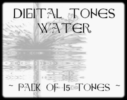 Digital Tones Water by bakenekogirl