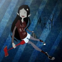 Marceline the Vampire Teen by MonkeyMonk14