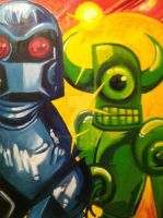 The Bad Robots by JackHook