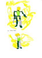 Toa Dhruof drawing by Dazza-Thim