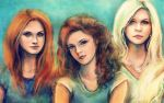 HP Girls by alicexz