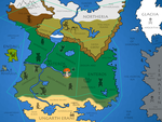 The Immortal Realm (Tails Of Infinium World Map) by SabreShot