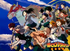 Boku no Hero Academia 29 Complete Color Redraw by IRSTs