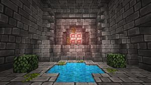 Minecraft temple by trazzit