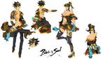 Blade and Soul Costume Design by Rayjii