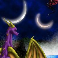 Twilight falls by Spyro-fan-25