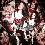 Selena Gomez-JUST A BEAUTIFUL ME + RESOURCES by Liasgraphics