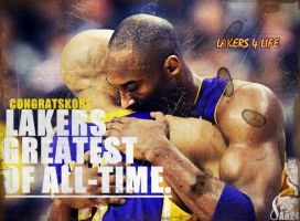 Kobe Bryant Lakers Greatest Of All-time by pllay1