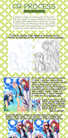 POKEGIRLS Process by Konett