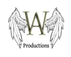 Angel Wolf Productions Logo by piperpiper7