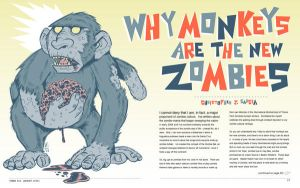 Monkeys are the New Zombies by liliesformary