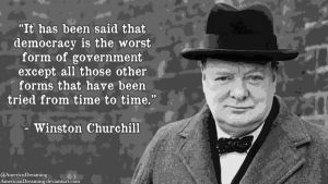 Churchill on Democracy by AmericanDreaming