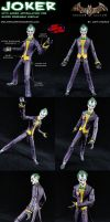 Custom Joker (Arkham Asylum) w/ Added Articulation by MintConditionStudios