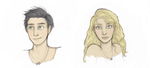 Percy And Annabeth by renesmeecullen51