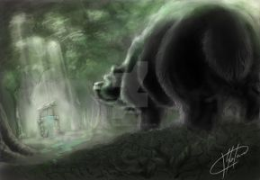 The well from the bear forest by StefanTistu