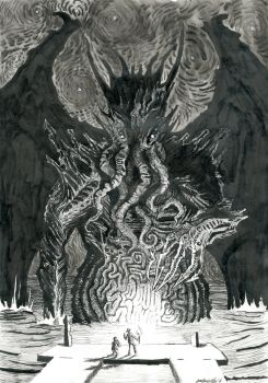 King of Madness I by Heidling