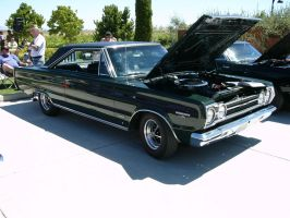1967 Plymouth Belvedere GTX with Hemi Power by RoadTripDog