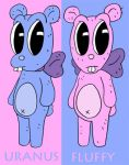 Fluffy and Uranus by jjmccullough