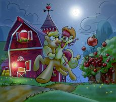 AJ fun night by Terkatoriam
