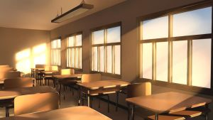 Classroom by Badriel