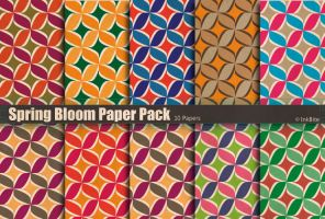 Spring Bloom Paper Pack by naga-pree