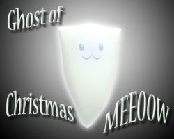 Ghost of xmas meow by The-Bongmaster