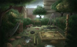 Derelict Playground by Bakenius