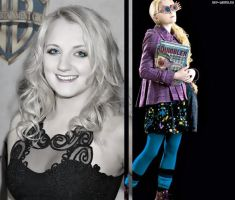 Evy Lynch as Luna Lovegood by MissWeasleyJB