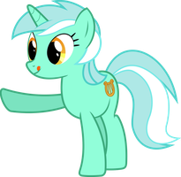 Simple Lyra Vector by Lktronikamui
