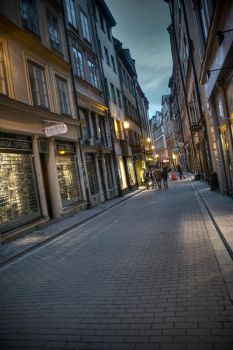 Old town, Stockholm by Dantestyle
