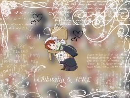 Chibitalia x HRE wallpaper by MissCath