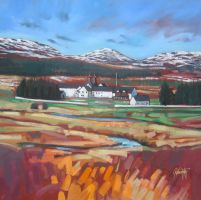 Dalwhinnie Distillery by NaismithArt