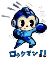 Mega Man by Iceland-Ink