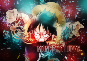 Monkey D Luffy by yuukiohaku2004