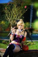 Eli Ayase . Halloween cover cosplay by Rael-chan89