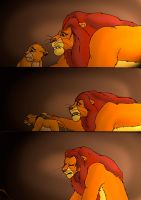 TLK Death of Mufasa, Comic page 9 by wolfmarian