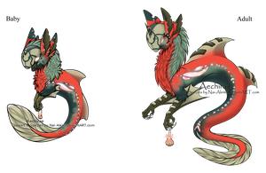 100 Themes - Aechirae Adopt - Adopted by Feralx1